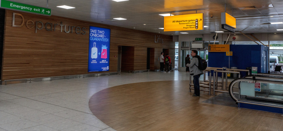 Uk Basketball: Glasgow International Airport Upgrade