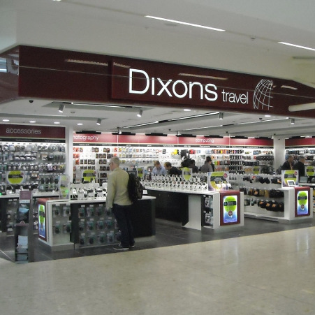 Dixons Travel, Edinburgh Airport | Pacific Building