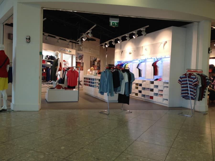 Glasgow International Airport retail area