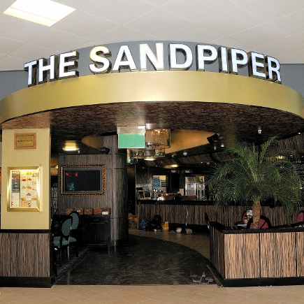 The Sandpiper, Glasgow Airport