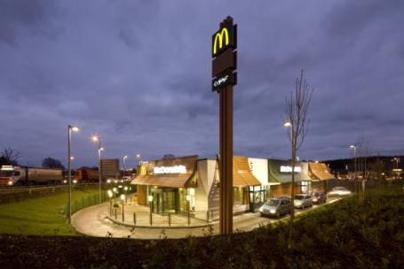 McDonald's, Nerston, East Kilbride, Glasgow, Scotland