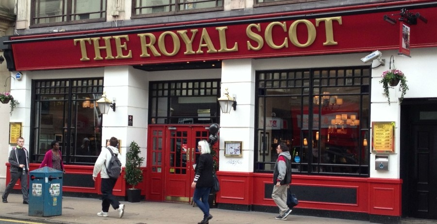 The Royal Scot, Union Street, Glasgow