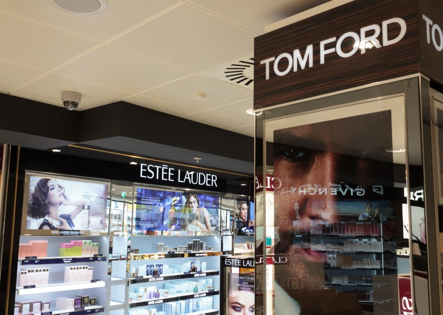 World Duty Free, Glasgow International Airport, Tom Ford, Estee Lauder