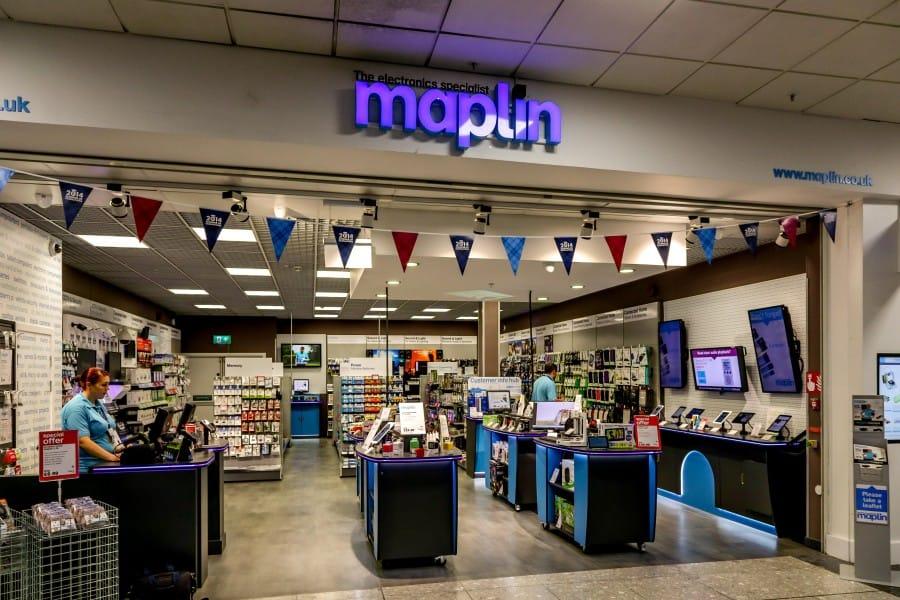 Maplin, Glasgow International Aiport
