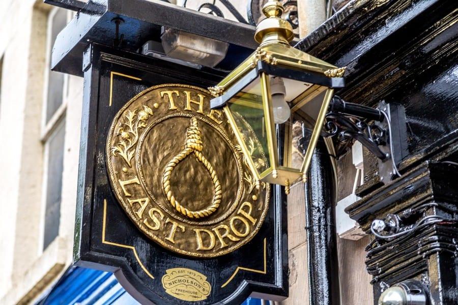 The Lat Drop, pub, Edinburgh