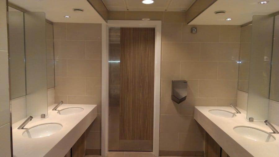 Washroom, Glasgow Airport