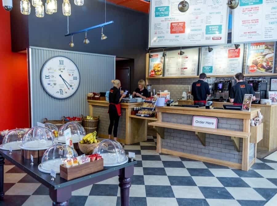 Tesco cafe, Linwood, Renfrewshire