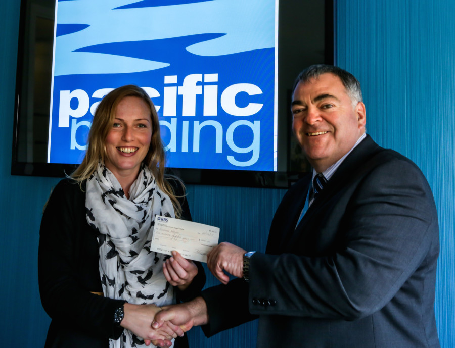 Maisie Hamilton, Funding Neuro, with Brian Gallacher, Pacific Building