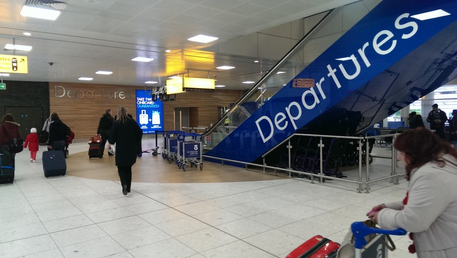 Glasgow Airport Check-in