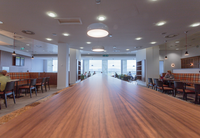 Upperdeck executive lounge, Glasgow International Airport