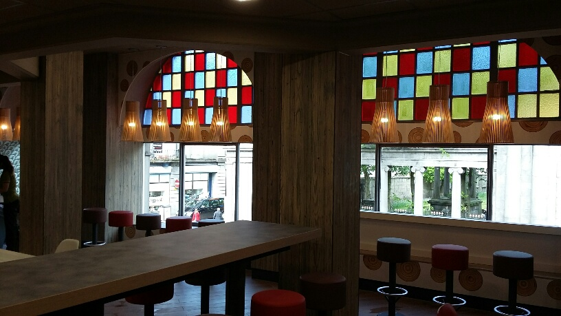 McDonald's restaurant, Union Street, Aberdeen, Pacific Building