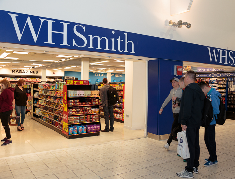 WH Smith, Glasgow International Airport, Pacific Building