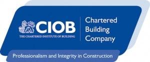 New CIOB - Chartered Building Company Logo