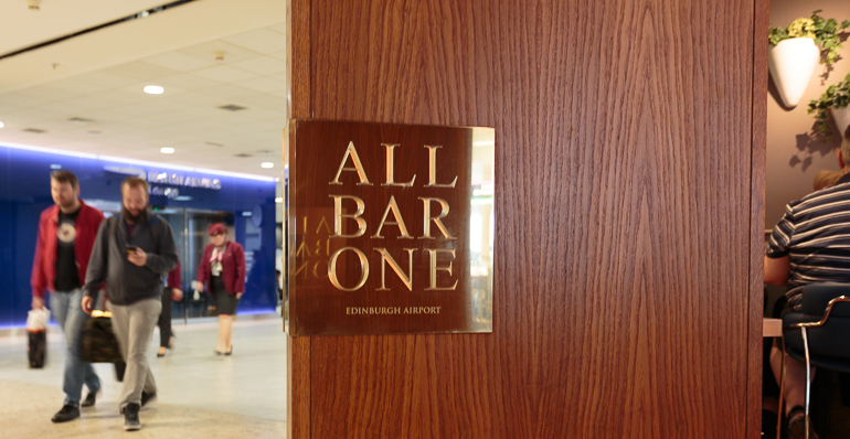 All Bar One, Edinburgh International Airport, Pacific Building