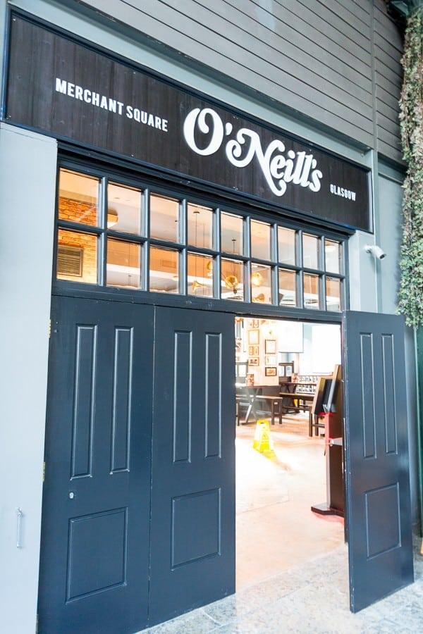 O Neill S Restaurants Glasgow