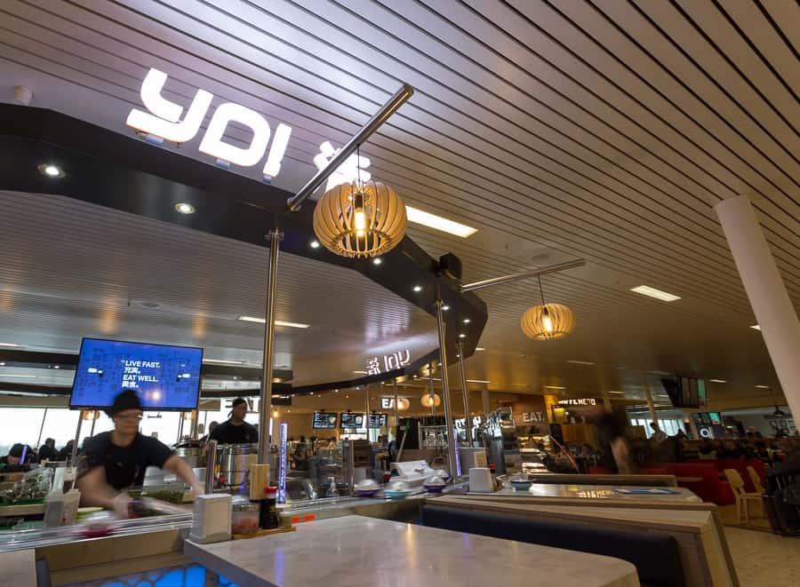 Yo! Sushi Edinburgh International Airport Pacific Building