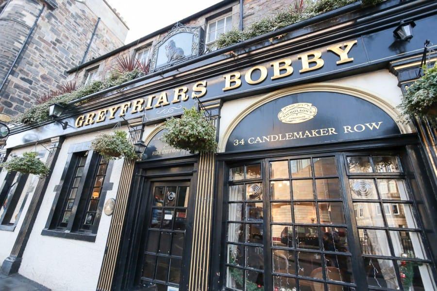 Greyfriars Bobby Edinburgh