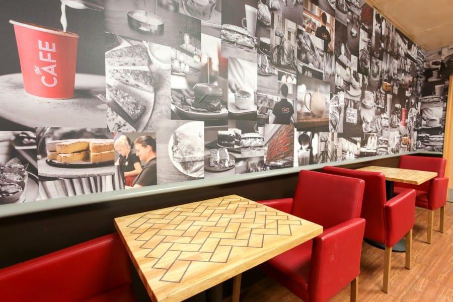 Tesco Cafe Cumbernauld 1