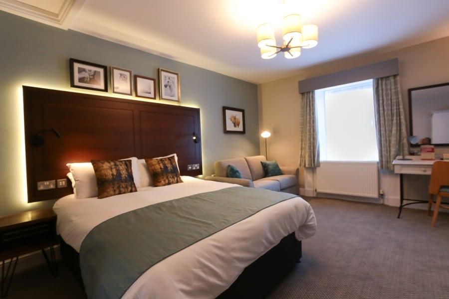 Balloch House bedroom