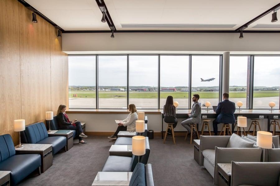 Aberdeen Airport BA lounge-3
