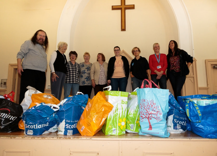 Pacific Building donation to Glasgow South West Foodbank-1