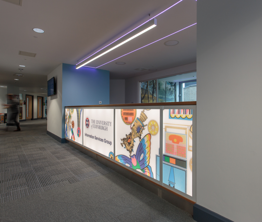 Edinburgh University ISG reception
