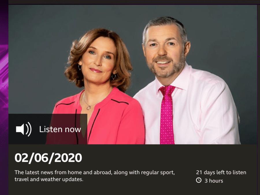 Brian Gallacher on BBC Good Morning Scotland