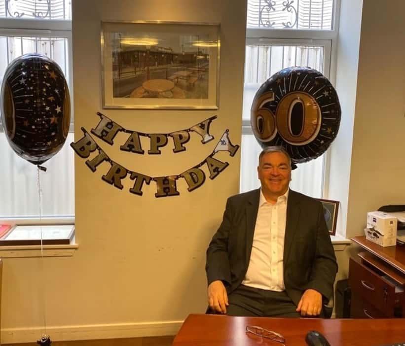 Brian Gallacher is 60