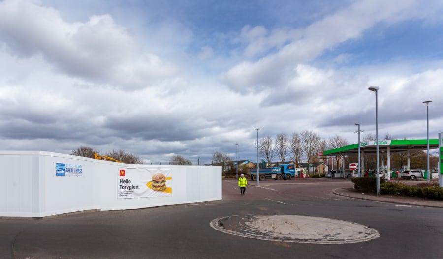 McDonald's Toryglen Glasgow